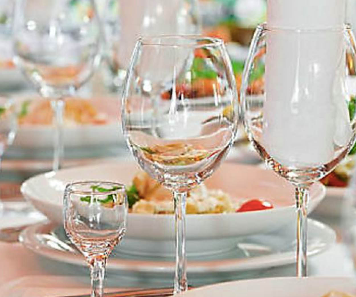 Dining Weddings events